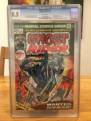 ghost rider 1 cgc 8.5 Special Weekend Price