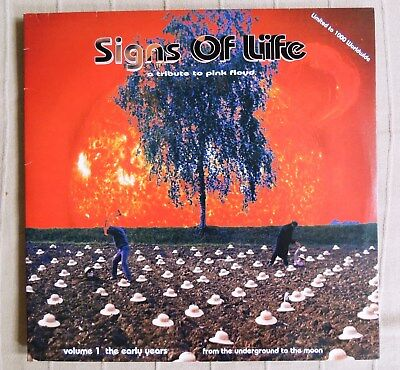Signs of life -  A tribute to Pink Floyd   sehr rare Doppel-LP  lim. edit.