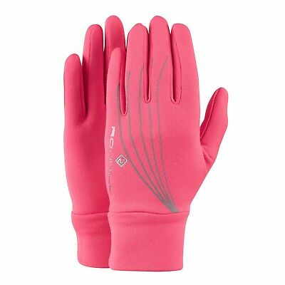 Ronhill Flash Fluo Pink/Reflect Women Glove Size L