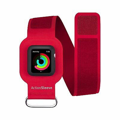 Twelve South Apple Watch (42mm) Large ActionSleeve Armband Red Controllable TS
