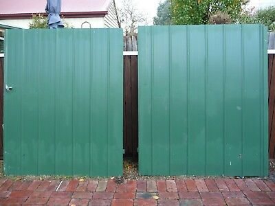 Metal  Double Gates Steel Frame,hinges And Latch