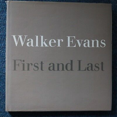 Walker Evans First and Last Photography Book