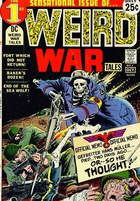 Weird War Tales Magazine Collection 104 Issues In PDF On DVD ROM