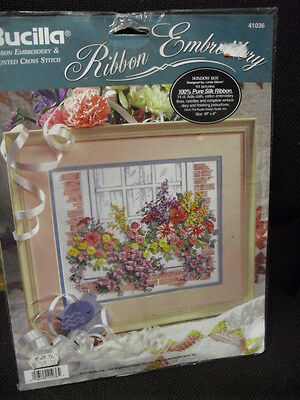 Silk Ribbon Embroidery Am Fenster