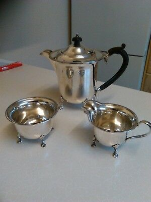 Late Victorian Silver Plated Tea Service by Mappin & Webb - 3 Items (796)