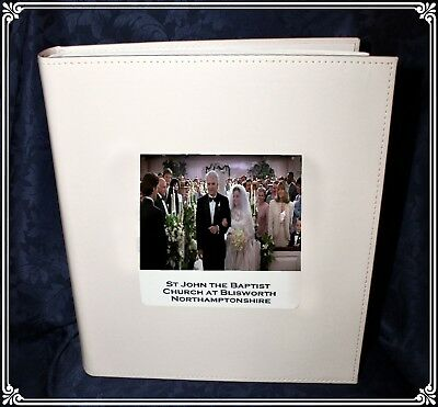 Personalised Large Wedding Photo Album own photo  and details Cellini Gift CD1