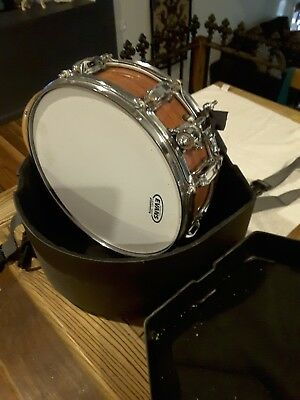 snare drum odeny eyedentity bubinga timber series piccolo with case