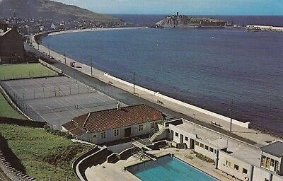 Isle of man topographical british postcards collectables picclick uk for Ramsey swimming pool isle of man