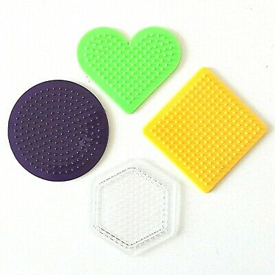 Hama Beads 16 Mixed Colours 5000 Mixed Beads Per Tub 4 Pegbords 2 Ironing Paper