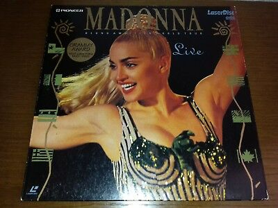 Laserdisc - Madonna - Blond Ambition World Tour Live - Edition Limited Europe