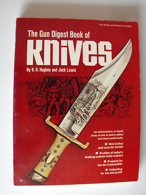 BUCH: The Gun Digest BOOK of KNIVES 1972 edition / B.R.Hughes + Jack Lewis