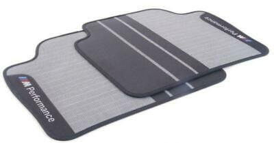 BMW Genuine M Performance Car Floor Mats Rear Set F20 LCI 1 Series 51472409929