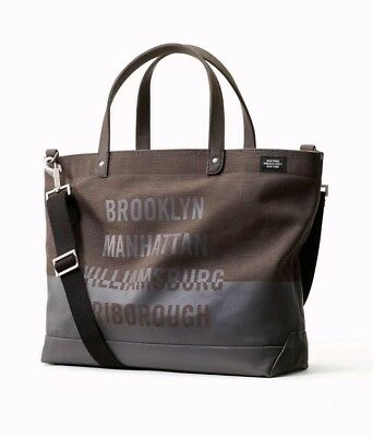 4f4b8ea560 NWT JACK SPADE New York Bridges Coal Bag Tote Dipped Grey Grey NYRU2746  228