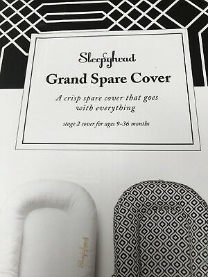 Sleepyhead Grand Baby cover in WHITE New