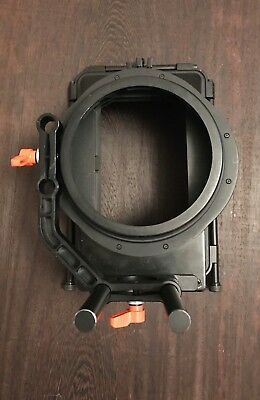 Opteka 4x5.65 Matte box / for 15mm rods / Used