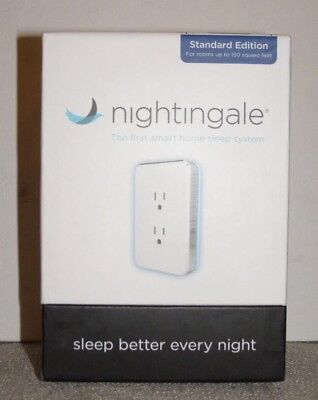 Nightingale Smart Home Sleep system Therapy Noise Masking - Single Pack~ NEW!