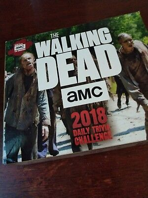 The Walking Dead 2018 Daily Trivia Challenge Boxed New