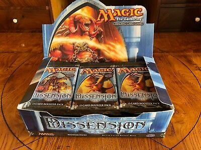 33x Dissension / Zwietracht Booster / Boosterpacks | MTG Magic the Gathering
