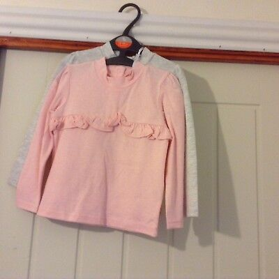 Lovely Girls 2pack Longsleeve Tops Age 12-18 Months From Tu.BNWT