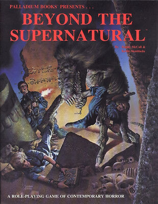 """Role-Playing Game """"Beyond the Supernatural"""" Paperback"""