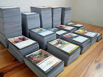JOBLOT 3300 Chinese MTG Magic Cards incl planeswalker & nearly 100 mythics/rares