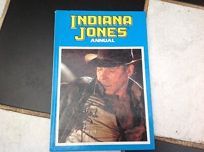 Vintage Original Indiana Jones Movies Annual Book 1989 Harrison Ford