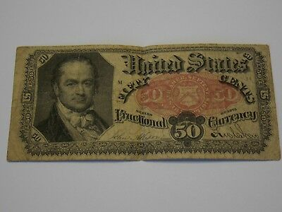 Fractional Currency 50 cent note