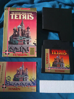 Tengen Tetris Nintendo NES CIB Boxed with Manual