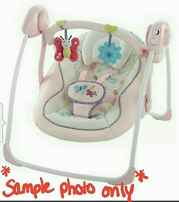 Comfort & Harmony Portable Baby Swing ADORABLE in EXCELLENT CONDITION