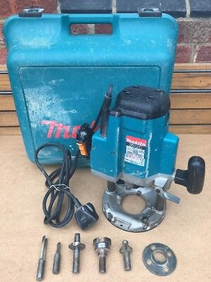 """Makita 3612C 12mm or 1/2"""" Collet Plunge Type Electronic Router, 1850W, 220 V"""