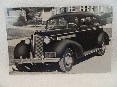 1937 Buick Used Car Salesman's Postcard Never Mailed NOS