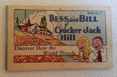 Cracker Jack Book Bess and Bill Discover How The World Travels