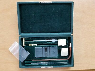 Hemacytometer Levy Counting Chamber USN Medical A. Thomas Fitted Case W/ Extras