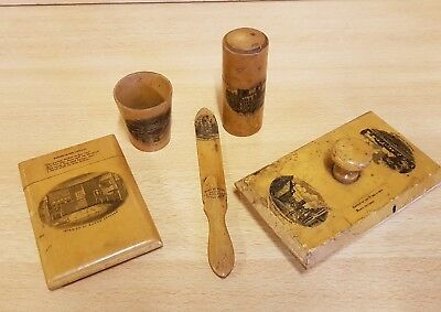 Collection Of Mauchline Ware>> Some Rare Collectors Items