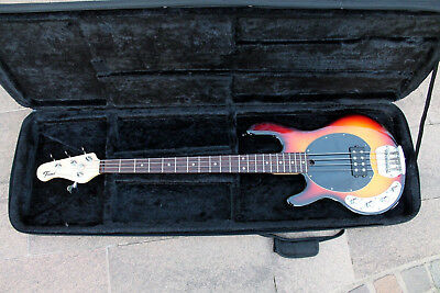 Fame MM 400 Sunburst Bass (Stingray copy) Linkshänder / Lefthand