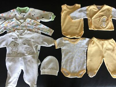 Baby clothes gender neutral boy girl lot 0-3 months
