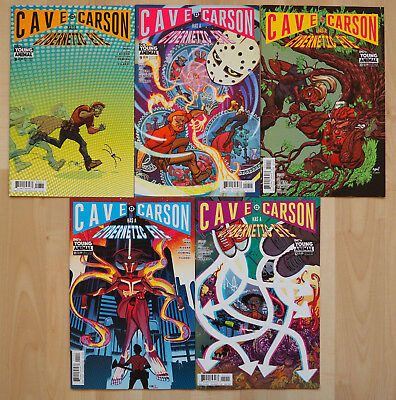 Cave Carson has a Cybernetic Eye 8-12 (DC's Young Animal) - US Comics Gerard Way
