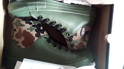 Latex/Gummi Fetisch: Converse Rubber Shoes Boots Gr.39,5/40 (6.5) RARE SOLD OUT