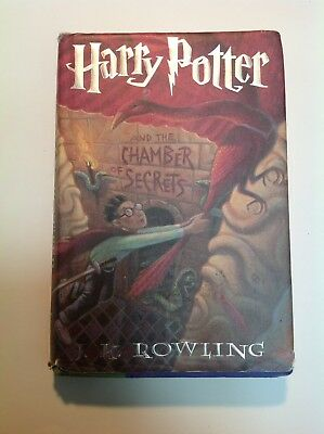 Harry Potter and the Chamber of Secrets First American edition 1999