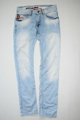 Gucci  jeans pants blue milano acid light  29/ 31  trousers RARE italy LIMITED