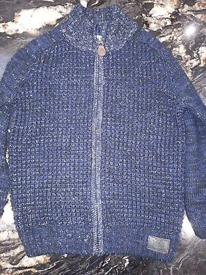 Boys thick cardigan, size 6-7 years. Excellent condition.