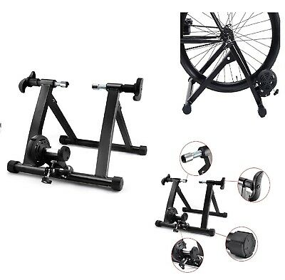 Heavy Duty Bike Trainer Stand Smooth 7 Level Resistance Indoor Exercise Bicycle