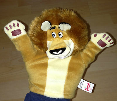 Comfort Persil Madagascar Movie Hand Puppet Soft Toy Alex the Lion