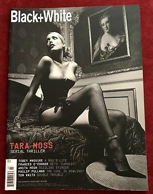 Not Only Black + White Magazine Issue #61 Tobey Maguire Tara Moss Tom Waits