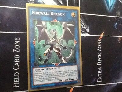 Yugioh 1x Firewall Dragon - COTD EN043 Secret Rare Unlimited Edition Mint