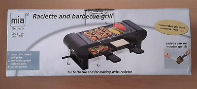 2 Personen Raclette , Barbecuegrill , Mia , Type RG 8171N