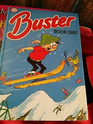 buster 1987 annual