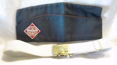 Circa 1949-1958 BSA EXPLORERS HAT & BELT - FREE SHIPPING