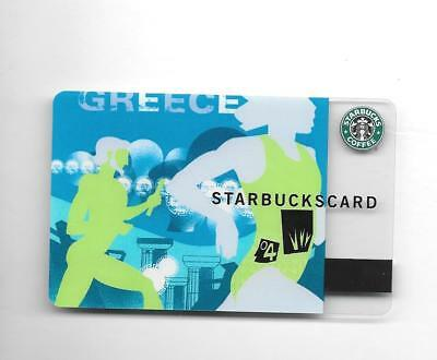 Early Issue Starbucks Card GREECE Athens Olympics 2004  NEW UNUSED