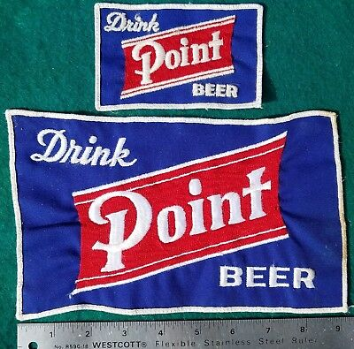 Drink Stevens Point Special Beer Cloth Patch, Pair of Patches, 2